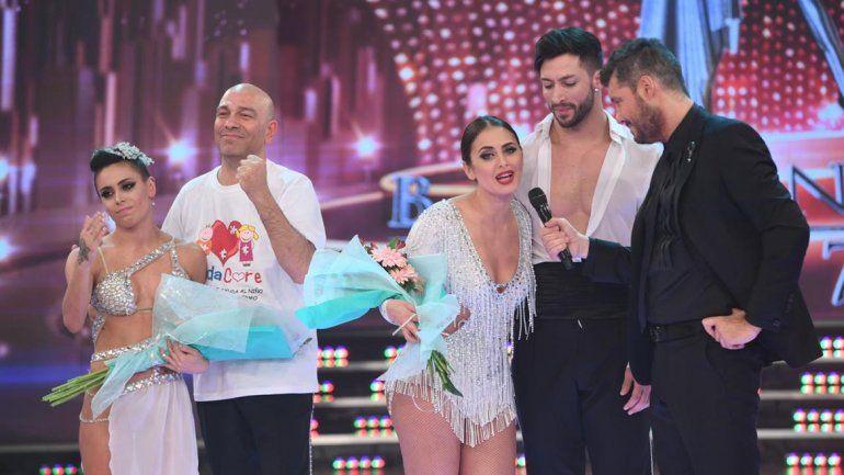 <div>Silvina Luna y Leandro Nimo se despidieron del Bailando 2017</div>