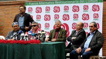 Las FARC se inscribieron como partido para las presidenciales