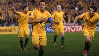 Australia bajó a Siria y clasificó al repechaje