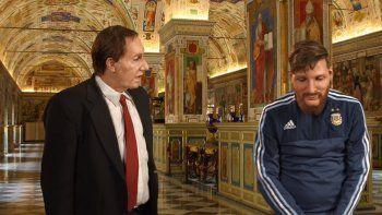 Messi y Bilardo le piden un milagro al Papa