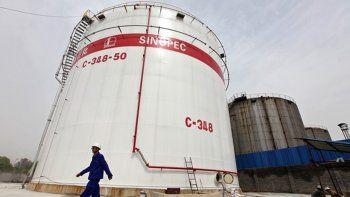 De China a Argentina. La petrolera tiene activos en Santa Cruz.