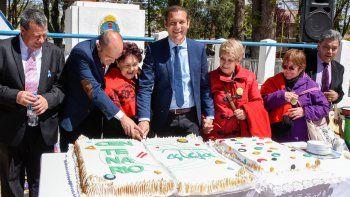 Gutiérrez encabezó los festejos por los 95 años de Centenario