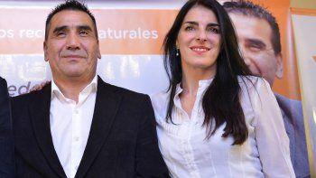 Rioseco y Miras Trabalón, candidatos del Frente Neuquino.