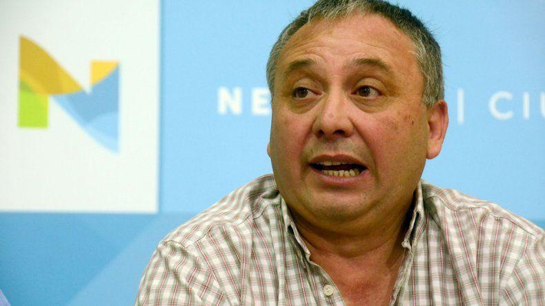 Santiago Baudino se despegó de la protesta que hicieron las mujeres.