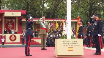 España celebra su Fiesta Nacional en plena tensión con Cataluña