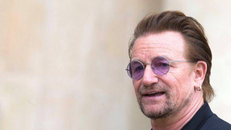 Bono le escribió una carta a la familia de Santiago Maldonado