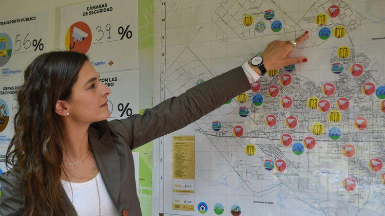Para Libres del Sur, la mayoría de los vecinos pide más cámaras de seguridad