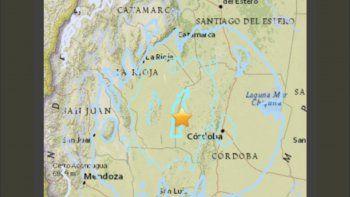 sismo de 5.5 sacudio la docta y se sintio en otras provincias