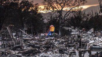 Ya son 40 los muertos por los incendios en California
