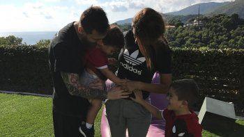La imagen que confirmó el embarazo.