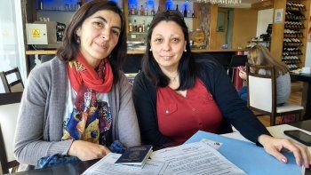 Sonia Morán y Andrea Zeballos son docentes de Centenario que fueron becadas entre los 20 que asistirán a distintas universidades estadounidenses.