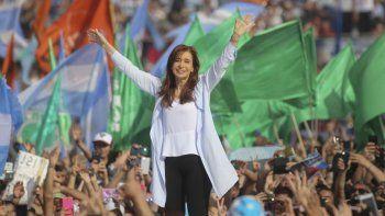 La ex presidenta fue la oradora principal. Antes, también habló Taiana.