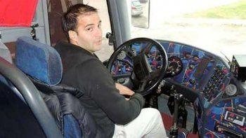 Jorge Pinelli, padre de Damián, quien conducía el micro al momento de la tragedia de San Rafael, otra vez manejaba un colectivo sin papeles.