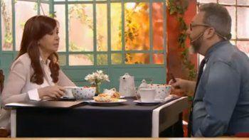 Picante mano a mano entre Cristina y Gerardo Rozín