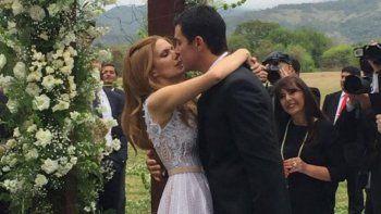 Aniversario. Hace unas semanas se cumplió un año de la boda en Salta.