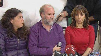 La familia de Maldonado dio una conferencia junto a su abogada y al perito que estuvo en el procedimiento.