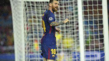 Messi y el Barca, imparables. Marcos estuvo en Juventus 2-Sporting 1.