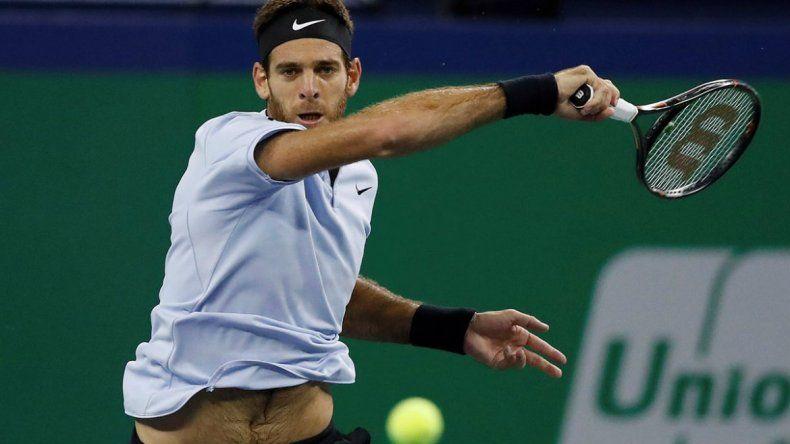 Imparable: Del Potro ganó y jugará la final del ATP de Auckland