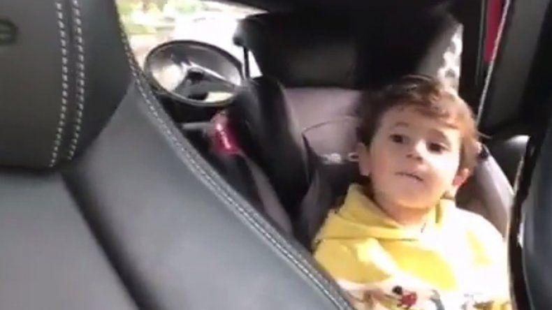El hijo de Messi sorprendió cantando en catalán