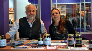 Andrés Peressini, interesado en dar a conocer su ciudad.
