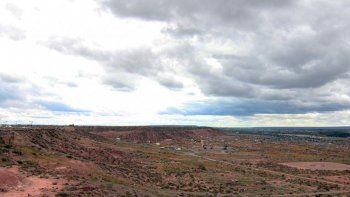 nubes y mas nubes para esta semana en el alto valle