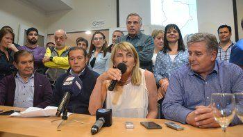 En el búnker del MPN el ánimo fue dispar. Omar Gutiérrez dijo que el resultado ratificó lo que sucedió en las PASO.