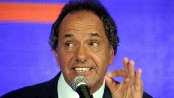 Scioli fue imputado por anomalías en la obra pública