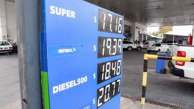 Las estaciones de servicio actualizaron los precios de los combustibles por tercera vez en el año.