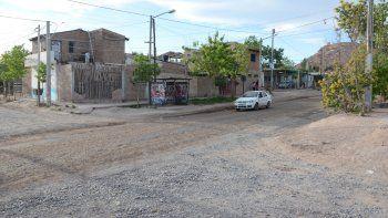 El hecho se produjo en calle 4 de barrio Toma Esfuerzo, en el oeste neuquino.