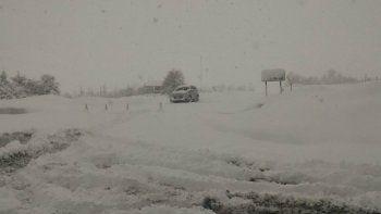 El paso Mamuil Malal cerrado por otra nevada en la zona
