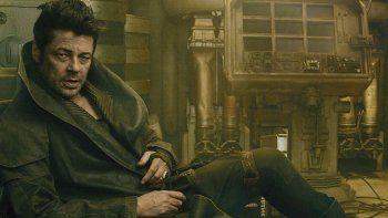 Benicio del Toro se pone en la piel de un personaje impredecible.
