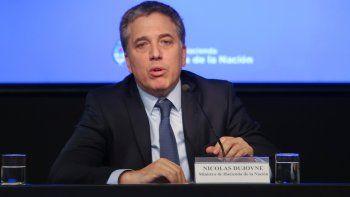 El ministro de Hacienda, Nicolás Dujovne.