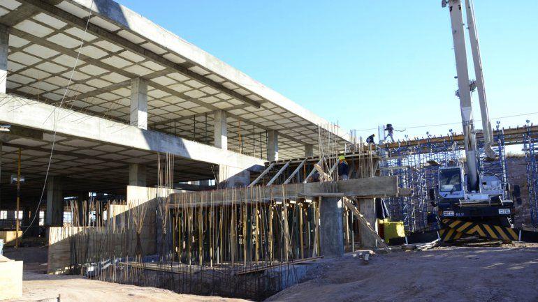 El edificio de la Municipalidad que se construye en el Oeste tendrá una inversión de $90 millones el año que viene.