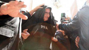 Aníbal Prina, cuando fue detenido por la Policía Federal.