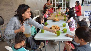 provincia aumenta un 30% las partidas para comedores