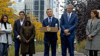 Macri rindió homenaje a las víctimas argentinas