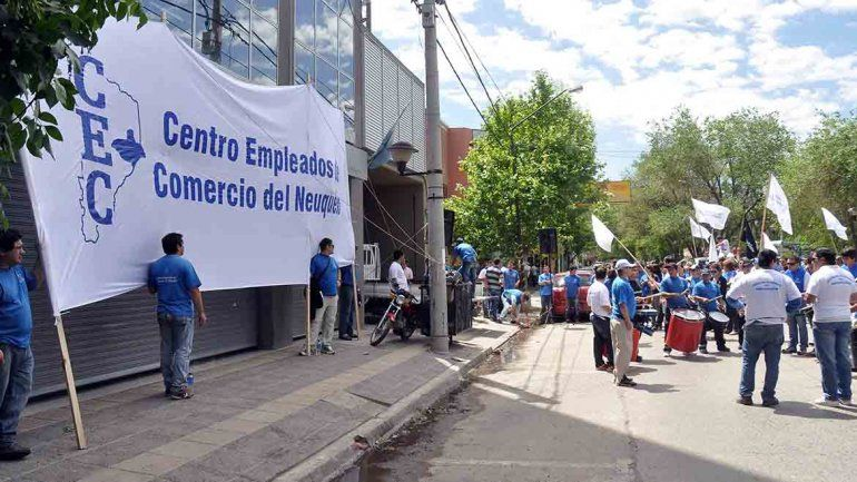 Empleados de Comercio rechazan la reforma laboral