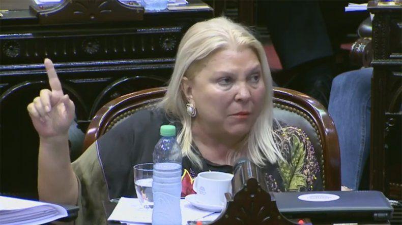 Elisa Carrió: Caputo da garantías en el exterior