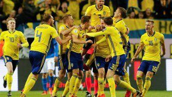 Suecia sorprendió a Suiza y está en cuartos del Mundial
