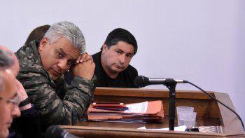 Fernando Machado y Carlos Penroz durante el juicio realizado en octubre por tres estafas a diferentes víctimas.