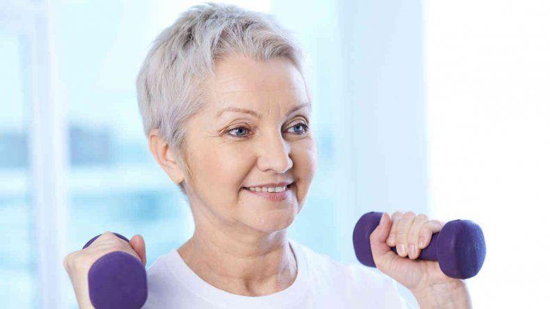 Se pudo comprobar que las personas que se ejercitan físicamente