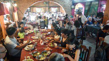 La Casa del Flaco, en Centenario, fue el escenario para lanzar la revalorización de este sector de la gastronomía.