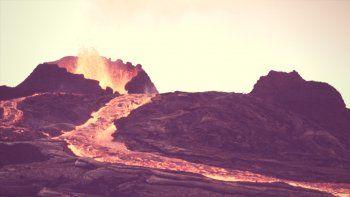 Una Go Pro sobrevive a un baño de lava