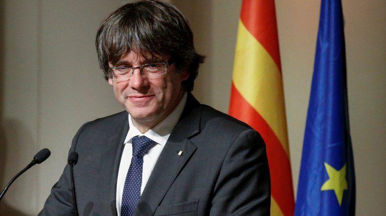 Puigdemont permanece en Bruselas esperando la decisión de la Justicia.