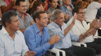 En febrero del 2015, Gutiérrez y Figueroa recibieron sus diplomas de candidatos. Sapag y Pereyra acompañaron.