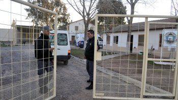 Los presos fueron atrapados antes de saltar el paredón del patio.