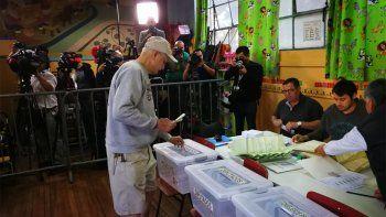 Chile elige nuevo presidente con Piñera como principal favorito