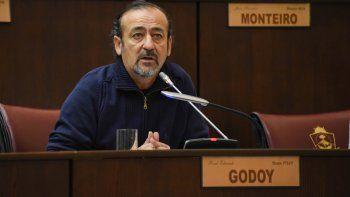 Raúl Godoy criticó que el presupuesto no cubre la inflación.