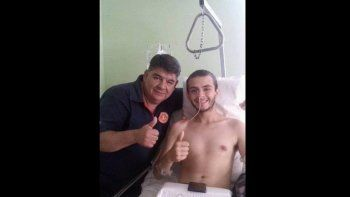 Carlos y Facundo Mansilla.