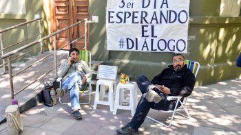 Quintriqueo y Marillán, a la espera del diálogo con el Gobierno.